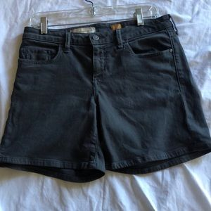 Pilcro & the letterpress dark gray shorts size 28